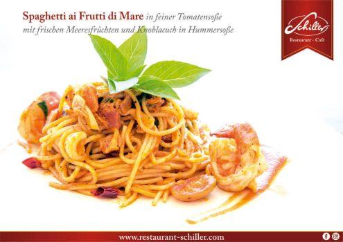 Spaghetti ai Frutti di Mare // Restaurant Schiller