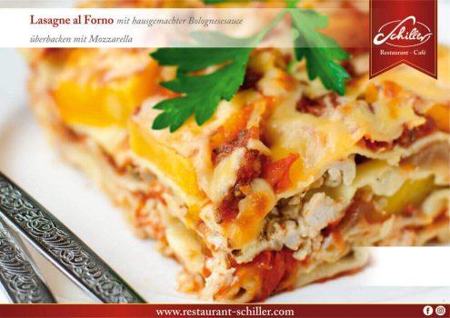 Lasgne al Forno // Restaurant Schiller